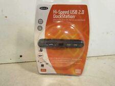 Belkin Hi Speed USB 2.0 F5U216 USB Parallel Serial VGA Ethernet Dock Station,