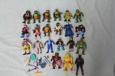 Vintage Action Figures Lot Teenage Mutant Ninja Turtles He-Man Motu Ghostbusters