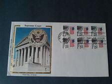 COLORANO 1ST DAY SILK COVER Scott 1896(1981) Booklet Pane Supreme Court