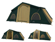 NEW Trek Tents 249 Polyester Taffeta 12 Person 10' x 20' Cabin Tent w/ Rain Fly