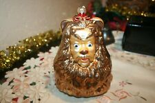 "Kurt Adler Polonaise Large ""Cowardly Lion"" Wizard of Oz ornament made in Poland"
