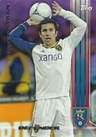 2013 Topps Major League Soccer Base Common Card Purple Parallel /99 (#81 - #100)