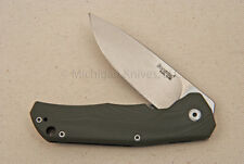 Lionsteel Titanium Knife - T.R.E. GGR w/ Green G10 and Titanium