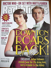 Radio Times 2012 Downton Abbey DOCTOR WHO Fellowes Darcey Bussell Mickey Rourke