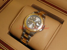 Rolex Yacht-Master 35mm Stainless Steel & Yellow Gold Oyster Silver Dial 168623