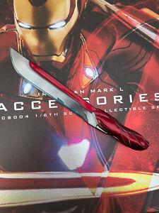 Hot Toys ACS004 MMS473D23 Iron Man Mk50 Mark L Accessories Nano Blade Sword