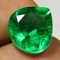 7-9 CT Natural Transparent Columbian Emerald Pear Cut Gemstone GIE CERTIFIED