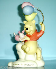 Lenox Disney WINNIE THE POOH Friends Lift You Higher with Piglet Figurine New