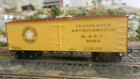 Roundhouse MDC Houston & Texas Central Old Time 36'  Reefer, Upgraded, Exc