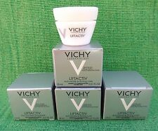 NIB LOT OF 4 VICHY LIFTACTIV ANTI-WRINKLE & FIRMING CARE CREAM TREATMENT 15 ML.