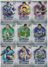 2014 NRL Traders RETURN TO SENDER Full Set of 32 Cards