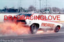 """""""RAMCHARGERS"""" Leroy Goldstein 1970 Dodge Challenger NITRO Funny Car FIRE PHOTO!"""