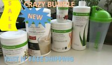 HERBALIFE FORMULA 1 SHAKE MIX PROTEIN-FIBER-ALOE-TEA -FREE SHIPPING -US SELLER-