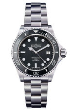 "New DAVOSA Swiss ""Ternos Professional Diver"" automatic watch ""Black"""