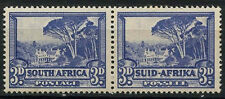 South Africa 1933-48 SG#59, 3d Groot Schuur MNH Pair #D23847