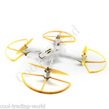 4x Golden Hubsan H501S-05G H501S-06G RC Spare Parts Protectors Guard Bumpers