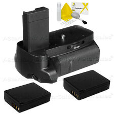 Battery Grip for Canon EOS Rebel T3 T5 / EOS 1100D 1200D + 2X LP-E10 Batteries