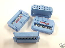 ( 25 PC. ) T&B 622-1430 ( 1658527-5 ) 14/C RIBBON CONNECTOR - 7 X 2 ROWS, NEW