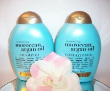Organix Moroccan Argan Oil Renewing Shampoo Conditioner Set 13oz ea