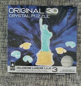 BePuzzled 3D Crystal Puzzle - Statue Of Liberty  69 Pcs - Ages 12 +