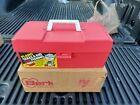 vintage plano tackle box Model 2100. Factory new 1980s..sealed in box