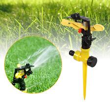 360° Adjustable Rotary Watering Spray Garden Irrigation Lawn Circular Sprinkler