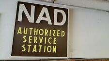 Vintage NAD Home Audio Sign | Stereo Advertisement Signage
