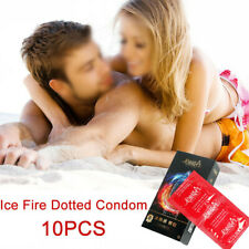 Ice And Heat Dual Action Lubricated Condoms Extra Thin Extra Sensitive Condoms
