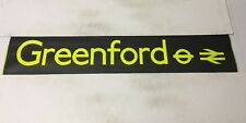 """London Bus Blind ( North West ) 45 42"""" - Greenford Stations"""