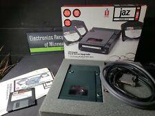 Iomega Jaz Portable 1GB SCSI Drive V1000S Vintage Portable (New Open Box)