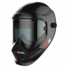 True Color Solar Power Anti Fog Auto Darkening Welding Helmet Hood MIG TIG ARC