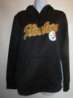 Pittsburgh Steelers Hooded NFL Team Apparel Women's Pullover NWT Size S