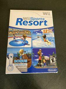 Wii Sports Resort (w/Wii MotionPlus) - (Nintendo Wii, 2009) New