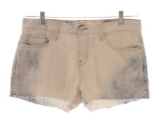 MARC BY MARC JACOBS Slouchy Workwear Bleached Cut Off Denim Jean Shorts Size 30