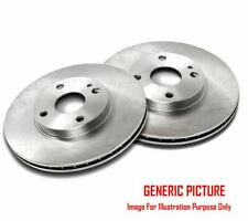 2 x NEW FRONT AXLE BRAKE DISCS SET BRAKING DISCS PAIR QUALITY BOSCH 0986478979