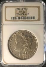 1896-O Morgan Dollar Almost Uncirculated-53 NGC