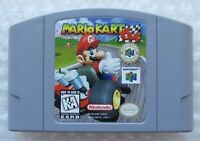 ✅ *GREAT* Authentic Mario Kart Nintendo 64 Video Game Cart Players Choice Rare ✅