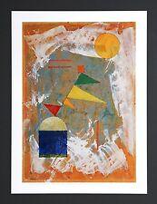 Wassily Kandinsky : Flatternd (Palpitant) 1930 Poster Kunstdruck Art Print 33x45
