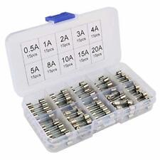 Voiture classique fusible en verre 32 mm x 6.3 mm x 25 Ampères 5 Pour Lucas 4FJ 6FJ 7FJ boîte à fusibles