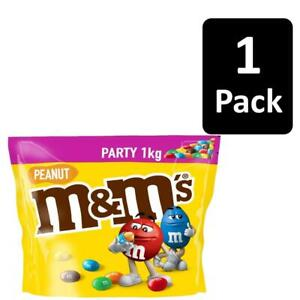 1kg M&M's Peanut Chocolate Nuts Sharing Party Bag Pouch Sugar Shell