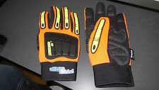 Size Large Pro Grip Gloves Knucklehead K10 Full Hand Protection Insulated