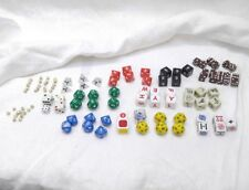 Lot of 107 Die Dice, 4, 6, 8, 12, 20 and Misc others
