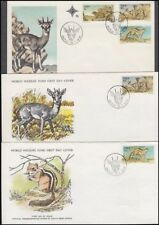 South West Africa Swa 1976 Fauna Conservation Covers (x3) (Id:677/D38641)