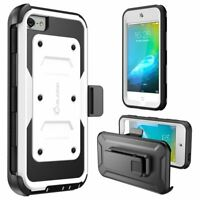 i-Blason for iPod Touch 7/6/5th Gen Full Body Case iTouch Cover+Screen Protector