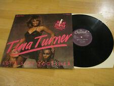 Maxi Single LP Tina Turner Let's Stay Together Vinyl EMI 1CK052 1868196