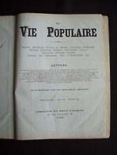 La vie populaire 1881-1882 - T.4