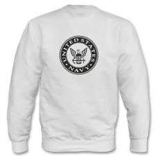 Eeuu Estados Unidos Navy Logo i Fun Eslogans Divertido Sudadera hasta 5XL