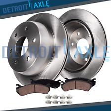 Rear Brake Rotors & Ceramic Pads for 2007 2008 2009 2010 2011 2012 Mazda CX-9