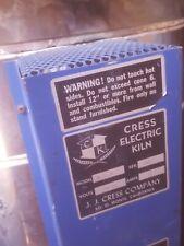 Cress Electric Kiln Model B-23-H 240V Ac 25 amps