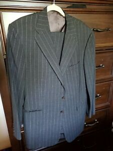 ralph lauren purple label suit 43L Wool Cashmere Measurements in description
